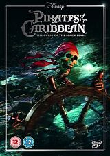 PIRATES OF THE CARIBBEAN Curse of Black Pearl DVD Disney in Inglese Ltd. NEW .cp