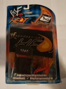 WWF SATURDAY NIGHT HEAT RING GEAR SERIES 2 RING SKIRT AND BROWN CHAIR RARE NEW