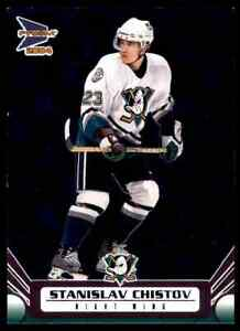 2004-05 PACIFIC PRIZM STANISLAV CHISTOV 251/325 ANAHEIM MIGHTY DUCKS #1 PARALLEL