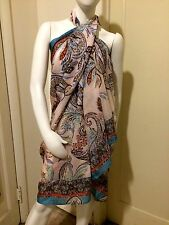 NWT!! VICTORIA'S SECRET BEACH SARONG PAREO COVER-UP WRAP    ONE SIZE