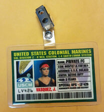 Aliens Id Badge-United States Colonial Marines Private Vasquez