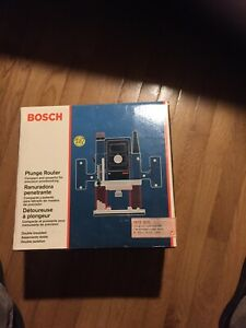 Bosch 1613EVS Wired Plunge Router Heavy Duty 2HP NEW IN ORG BOX