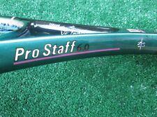 Tennis Wilson Pro Staff 6.0 Pete Sampras Tennis Racquet Light Use Needs 4 5/8