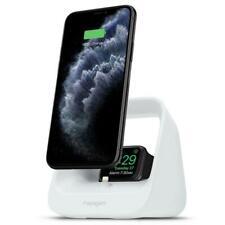 Spigen S316 2in1 Ladestation für iPhone / Pods / Apple Watch Weiss