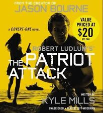 Covert-One: Robert Ludlum's Patriot Attack by Kyle Mills UNABRIDGED CD *NEW*