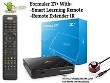 Formuler z7+ -NOUGAT-7-1-WIFI-With-Smart-Learning-Remote-and-Remote-Extender-IR