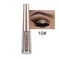 HANDAIYAN Metallic Glow Glitter Long Lasting Liquid Eyeshadow Waterproof Makeup