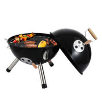 Barbecue Charcoal Grill Stove Shish Kabob Stainless Steel BBQ Outdoors Camping