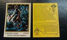 New listing Shaquille O'Neal Orlando Magic #171 92-93 NBA Cartoon Skinnies RARE ODDBALL