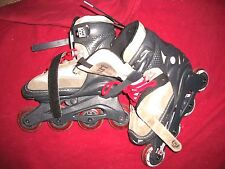 Saber Dart Forward Inline Skates Youth size 1-4 one owner Fast Shipping !