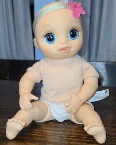 2017 Baby Alive Real As Can Be Realistic Baby Doll Life Sounds & Face Moves