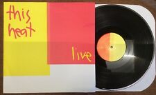 "THIS HEAT - LIVE - Vinyl LP record ""Live at Krefeld 1980"""