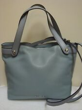 NEW MICHAEL KORS HYLAND DUSTY BLUE LEATHER PURSE OR TOTE