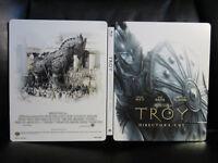Troy [UK] Premium Collection Blu-Ray Steelbook Open Mint Region Free RARE