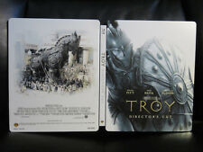 Troy [UK] Premium Collection Blu-Ray Steelbook Open Mint Region Free RARE
