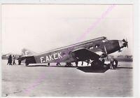 CPSM PHOTO AVION PLANE WIBAULT 280 France 1931 AU SOL