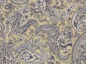 Liz Claiborne DELMONICO PUTTY Gray Tones Cotton Drapery Home Decor Sewing Fabric