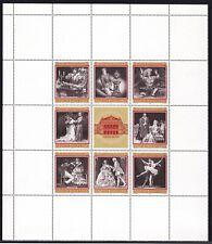 """OPERNBLOCK aus 1969 mit Abart""""SCHWANENSFF""""ANK.Nr.:Block 3 pf**3 Bilder >"""