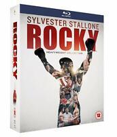 Rocky - de Peso Pesado Colección - la Completa Saga (6 Películas) Nuevo Blu-Ray
