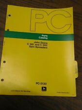 John Deere C381 C392 Spin Spreader Parts Catalog Pc3120