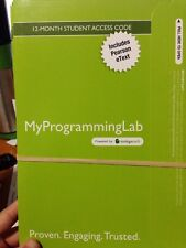 MyProgrammingLab with Pearson EText -- Access Code Card -- for Java Software Sol