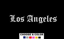 """Los Angeles California LA 7"""" Logo Vinyl Decal Sticker City"""