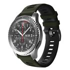 22mm Silicone Strap Watch Band For Samsung Galaxy Watch 46mm/Gear S3 Frontier