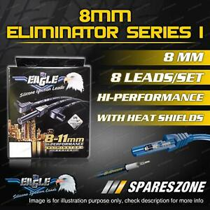 Eagle 8mm Eliminator Ignition Leads for Holden Crewman SS VY VZ W/ Heatshield