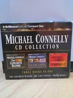 Michael Connelly CD Collection:The Concrete Blonde, the Last Coyote, Trunk Music
