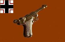 German Army War Luger P 8 Parabellum Semi Gun Pistol Pendant Chain Fob Charm SS