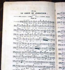 je suis lazzarone chansonnette de Paul Henrion partition pour chant seul 1865