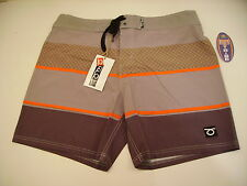 PANTALONCINO BOARDSHORT BEACH TENNIS TOM CARUSO CANCUN 1427500 BROWN MARRONE 32