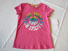 Puma girls youth active v neck t shirt 674 Shock Pink PYF31574 NWT 5 ^^