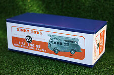 Riproduzione DINKY BOX 555 Fire Engine (955) UN