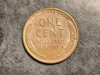 1942-S Lamination US Mint Error Lincoln Wheat Cent