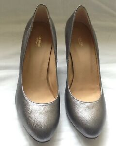 Lloyd Germany Women's Grey Leather Court Shoes. Size 6UK. RRP £120.