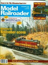 1993 Model Railroader Magazine: November Scene/Paint NP F-Unit Colors/Lone Pine