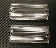 Nuffield Tractor,Leyland Tractor,Massey Lucas Type Clear Rear Light Lens Pair of