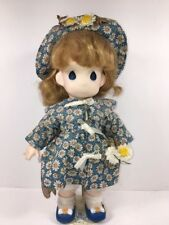 Precious Moments Doll Garden of Friends Daisy April #1458 Displayed Only