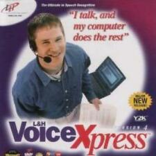 L&H Voice Xpress 4 Pro w/ Legal & Medical Upgrade Package PC CD recognition talk