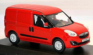 Opel Combo D Kastenwagen 4. Generation 2012-18 rot red 1:43 Norev