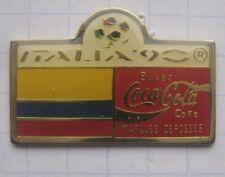 COCA-COLA / WORLD CUP ITALIEN `90 / EKUADOR FAHNE ..... Pin (168f)