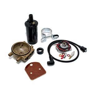 Ignitor Ignition & Coil Relocation Kit Ford 8N 2N 9N Tractor Pertronix 1247XT