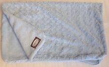 Blankets Beyond Baby Baby Blanket Light Blue Swirl Shaggy Plush Security Lovey