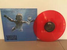 NIRVANA - NEVERMIND -180 GRAM RED COLORED VINYL LP - BRAND NEW EU IMPORT