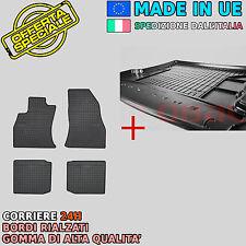 Velluto Tappetino bagagliaio per Fiat 500l Berlina ab Bj 04//2012