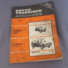 426E RTA 385 VW Golf Autobianchi Fue 112
