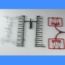 SW1500 GRAY WHITE RED Handrail Set (Plastic Version)  - Athearn - HO