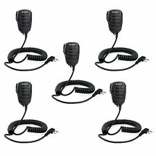 5xHot  Retevis RT21 2PIN Remote Speaker Microphone for H777 UV5R Kenwood TK-208