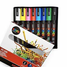 POSCA Colouring - PC-5M Assorted Set of 8 - In Gift Box